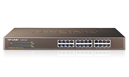 TL-SF1024 - Switch 10/100Mbps 24Port Rackmount